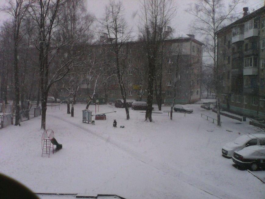 Зима вернулась в Полоцк и Новополоцк. Но уже в воскресенье синоптики обещают плюс 17, фото-3