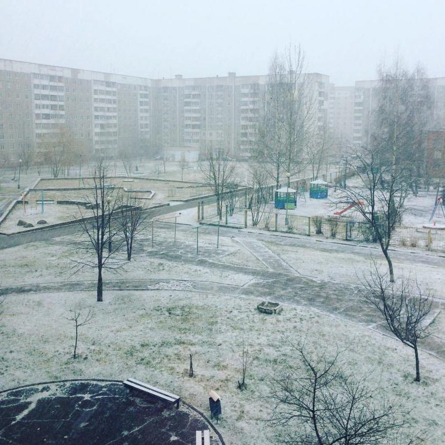 Зима вернулась в Полоцк и Новополоцк. Но уже в воскресенье синоптики обещают плюс 17, фото-2