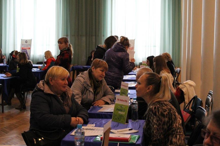 В Краматорске завершилась весенняя ярмарка вакансий, фото-3