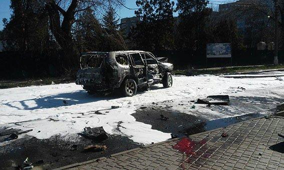 Теракт на Донетчине: сотрудник спецслужб взорвался в собственном автомобиле, фото-1