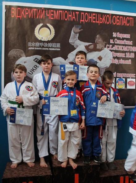 Бахмутчане заняли первое общекомандное место в Чемпионате области по каратэ JKS, фото-6