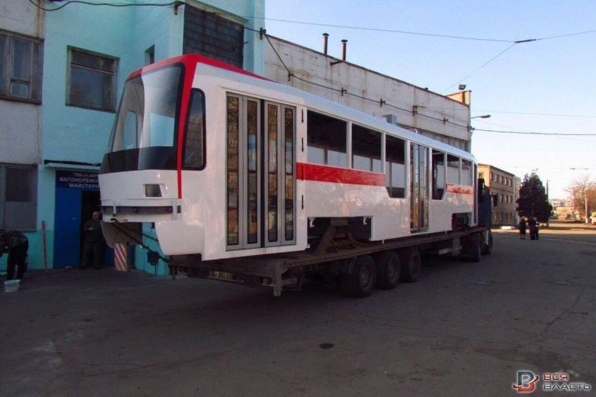 трамвай новый три