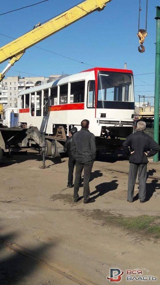 трамвай новый 1