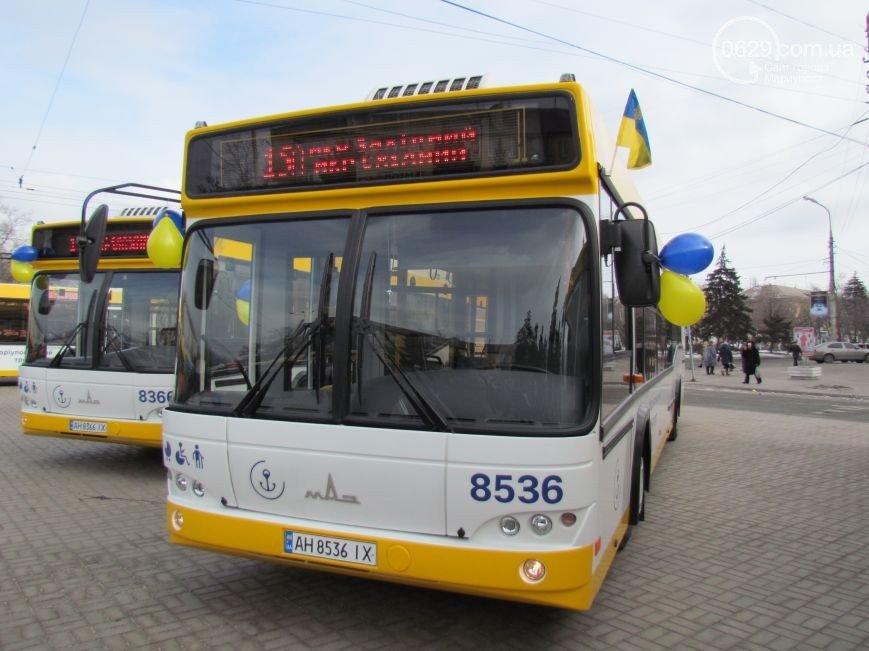 """Логотип для общественного транспорта в Мариуполе """"обрубили"""" намеренно (Фотофакт), фото-2"""