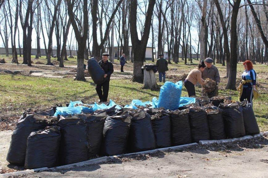 Мэр Покровска проанонсировал в соцсети официальное открытие общегородских субботников, фото-7