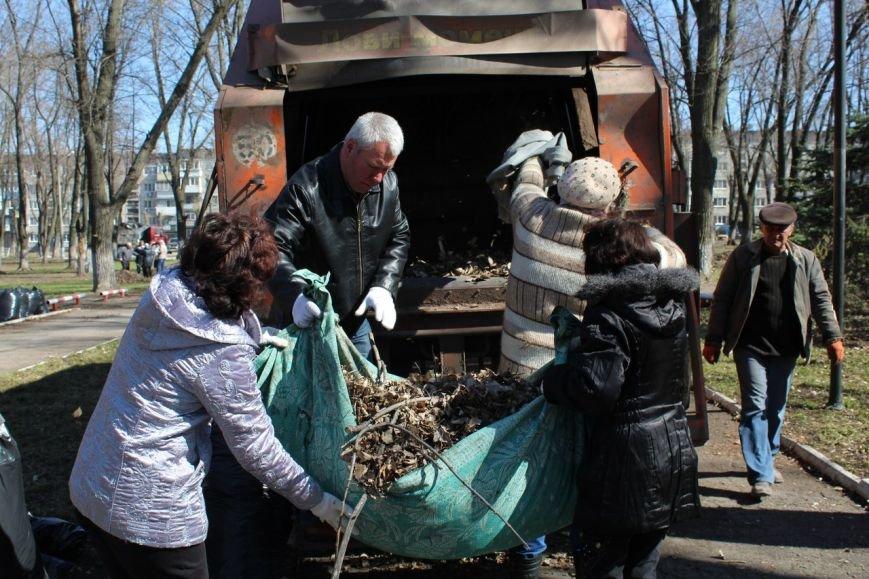 Мэр Покровска проанонсировал в соцсети официальное открытие общегородских субботников, фото-2