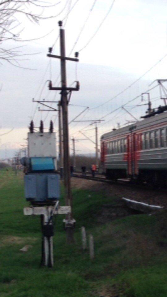 Под Симферополем электричка сбила человека (ФОТО), фото-1