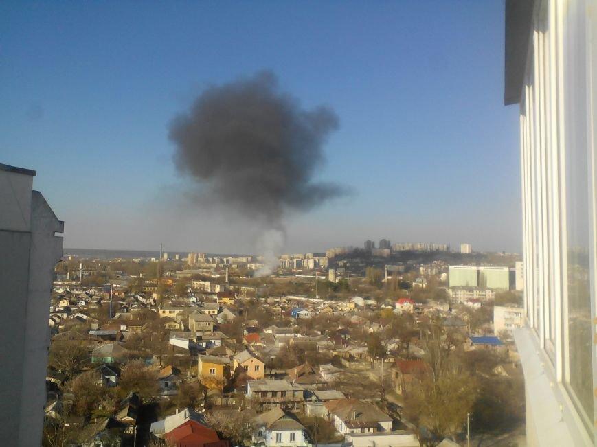 В Симферополе горела исправительная колония (ФОТО), фото-1