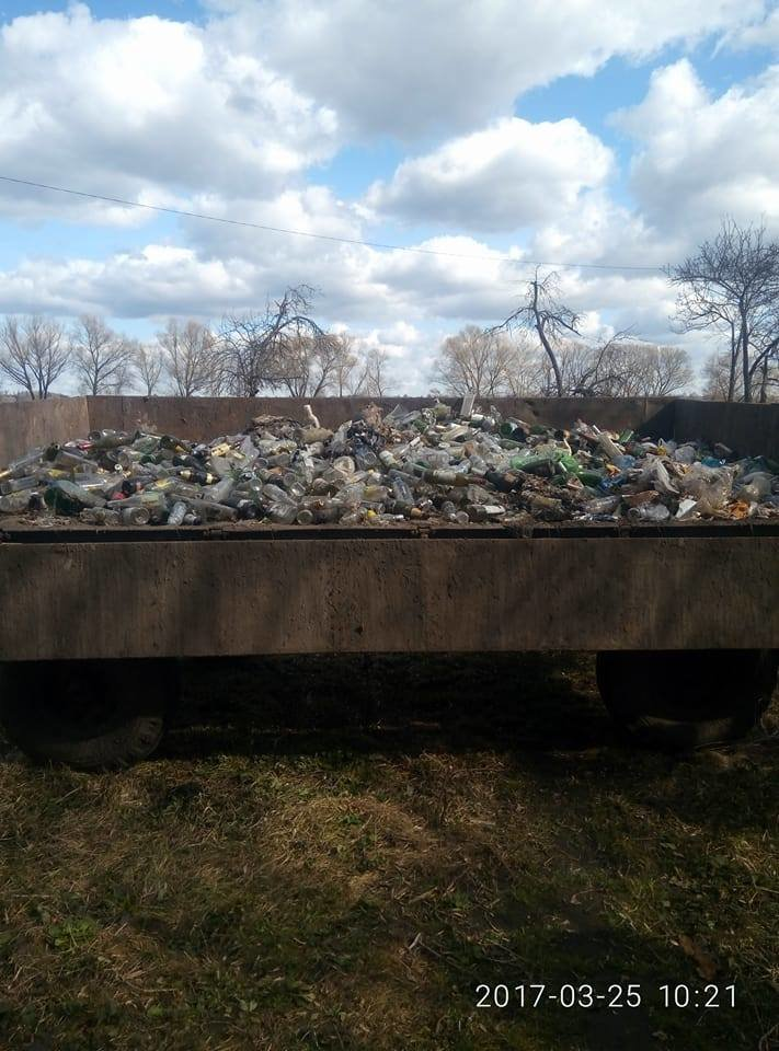 Фотофакт: На щойно прибраній Кандибині виросли нові купи сміття, фото-6
