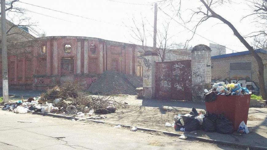 Люди! Что происходит с нашим Херсоном?! - горожанка о мусоре в центре города, фото-1