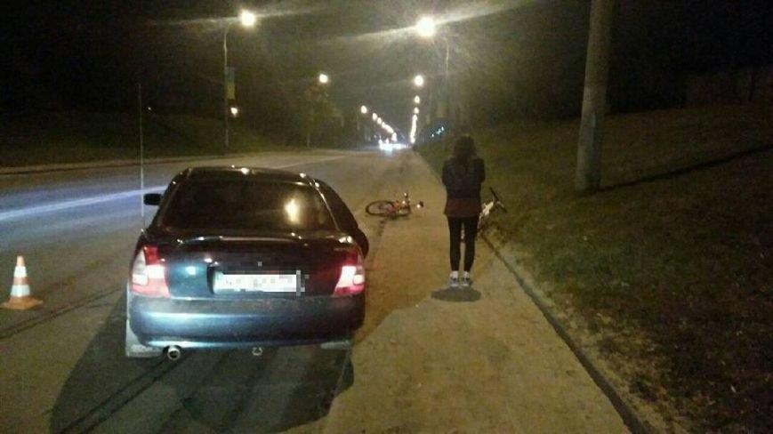 """На Деревянко """"легковушка"""" сбила велосипедиста (ФОТО), фото-1"""