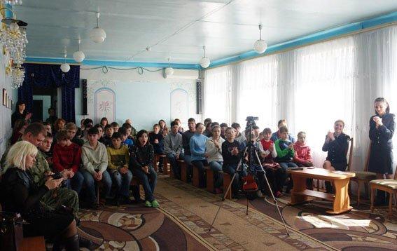 Полицейские и лиговцы подарили праздник воспитанникам школы-интерната Бахмутского района, фото-8