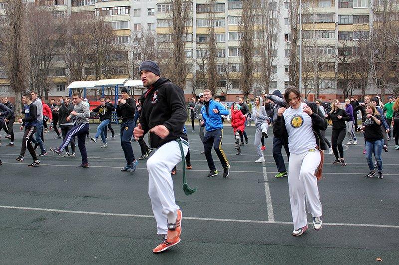Алексей Стоян открыл в Белгороде сезон общегородских зарядок, фото-8