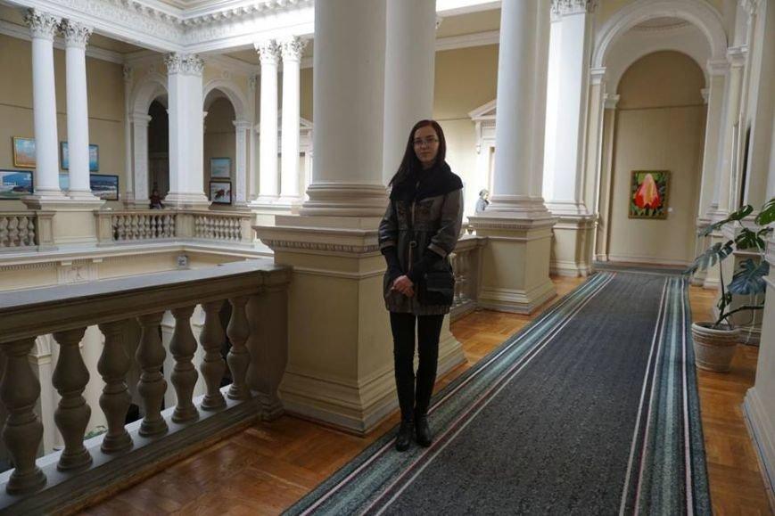 Во Львове открылась выставка картин юной художницы из Покровска, фото-3