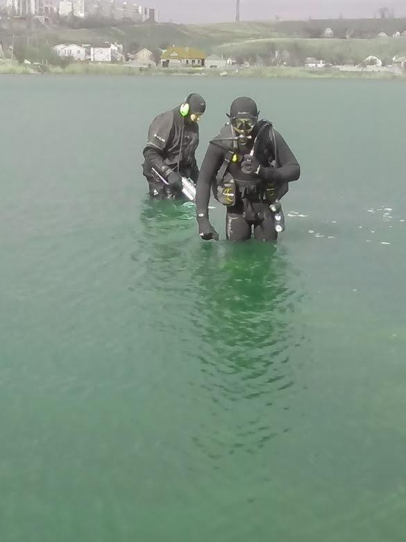 Мариупольские спасатели очистили акваторию пляжей от мин (ФОТО), фото-3