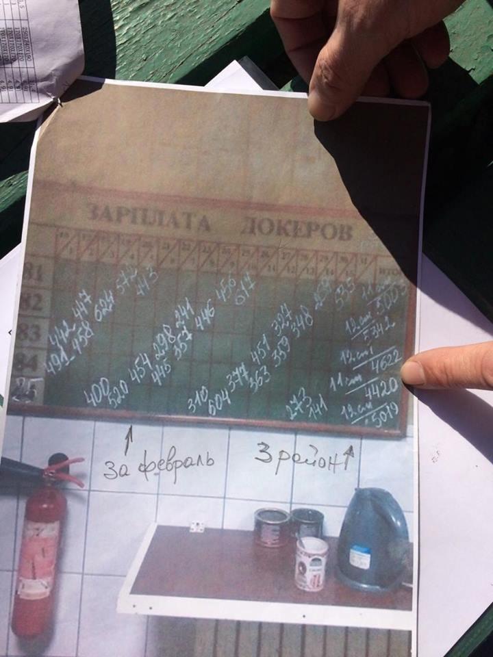 В Мариуполе группа докеров устроила митинг и разгневала других портовиков (ФОТО, ВИДЕО), фото-14