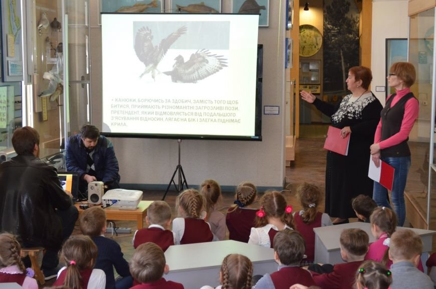 Школьники узнали о канюке обычном, фото-1