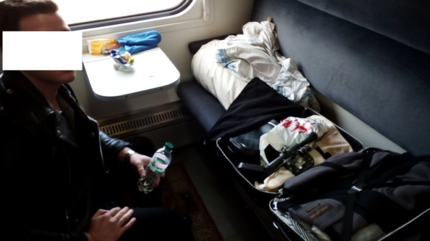 Харьковские пограничники нашли в вещах украинца оптический прицел к снайперской винтовке (ФОТО), фото-1