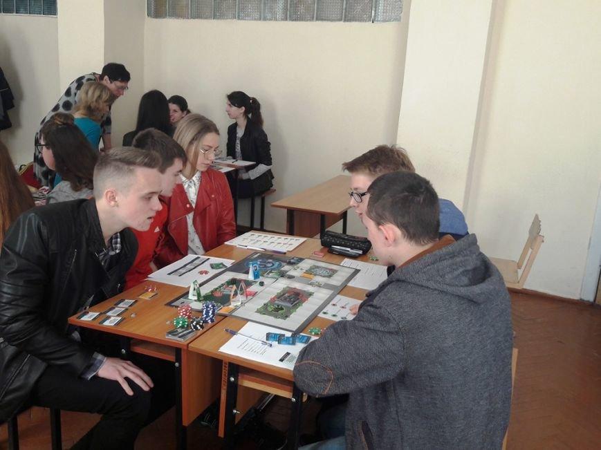 Студенты участвовали в бизнес- игре, которая меняет реальность, фото-1