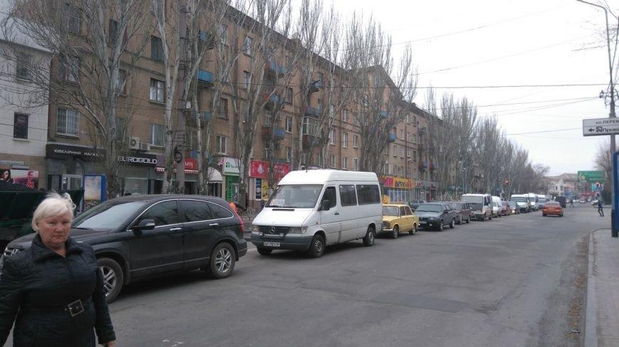 В центре города образовалась пробка, фото-2