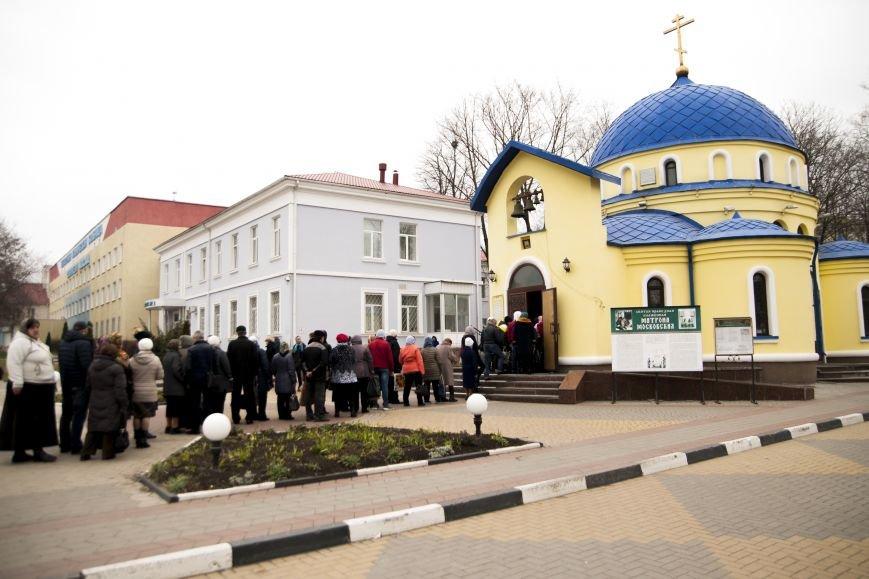 Белгородское чудо: иконы мироточат