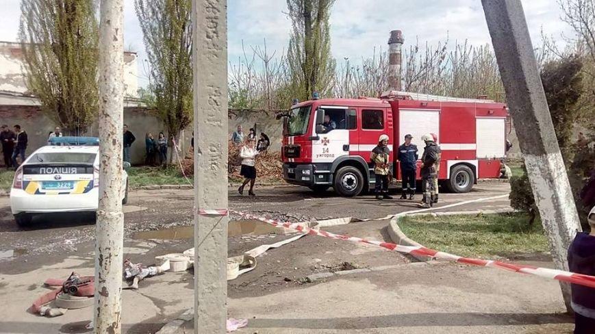 """У """"Закарпатгаз"""" зателефонували з повідомленням, що будівля вибухне після обіду: відео, фото-1"""