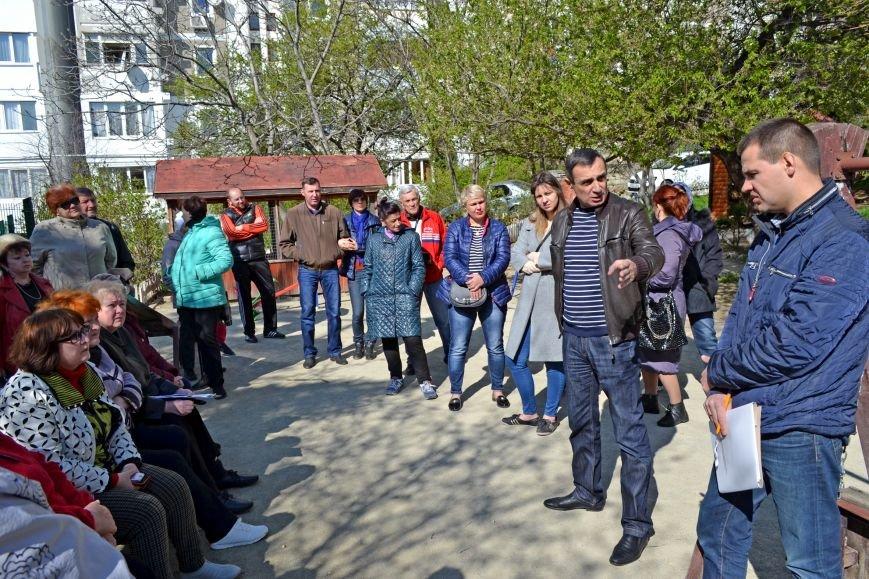 Задачи  по благоустройству придомовой территории на улице Родниковой в Кореизе планируются демократическим путем  (9)