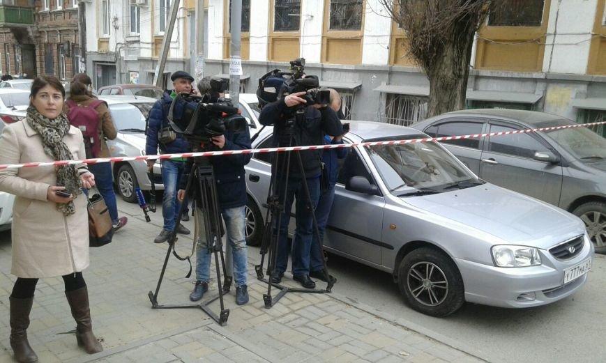В Ростове произошел взрыв в районе 5 гимназии, фото-11