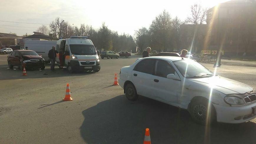 ДТП на проспекті Грушевського: є постраждалі, фото-1