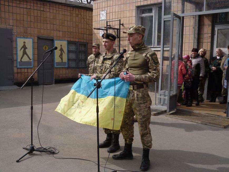 Первые весенние призывники Покровска отправились на защиту Родины, фото-20