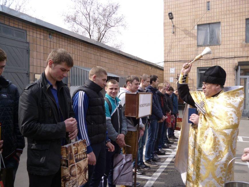Первые весенние призывники Покровска отправились на защиту Родины, фото-8