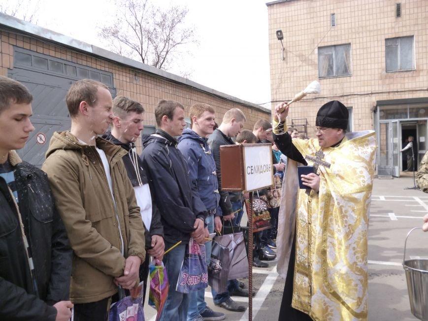 Первые весенние призывники Покровска отправились на защиту Родины, фото-7