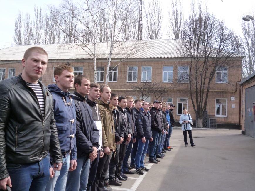 Первые весенние призывники Покровска отправились на защиту Родины, фото-10