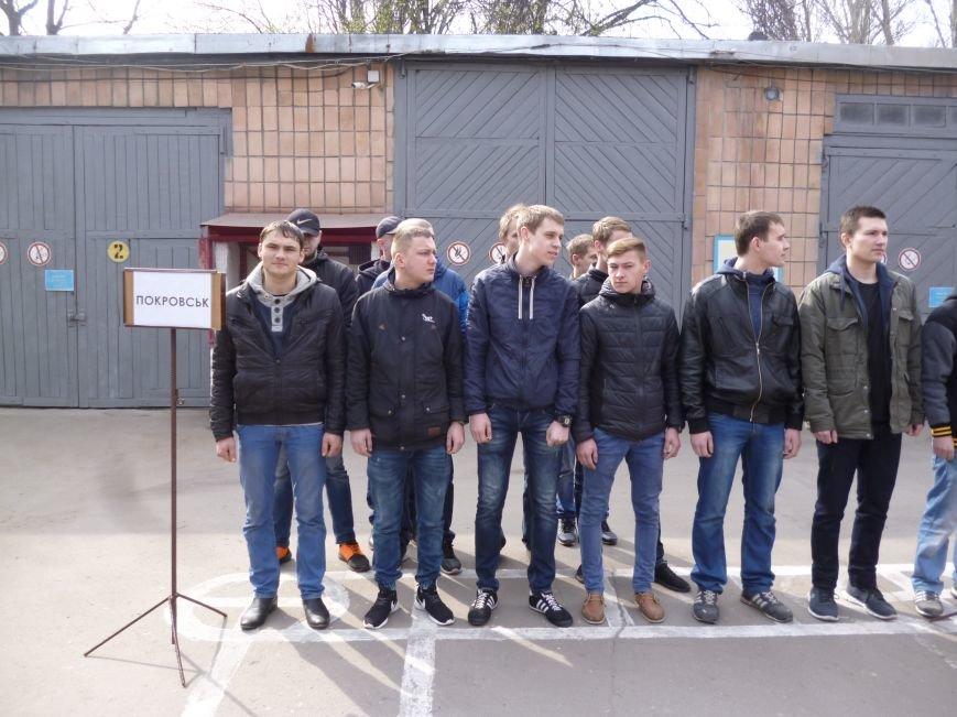 Первые весенние призывники Покровска отправились на защиту Родины, фото-4