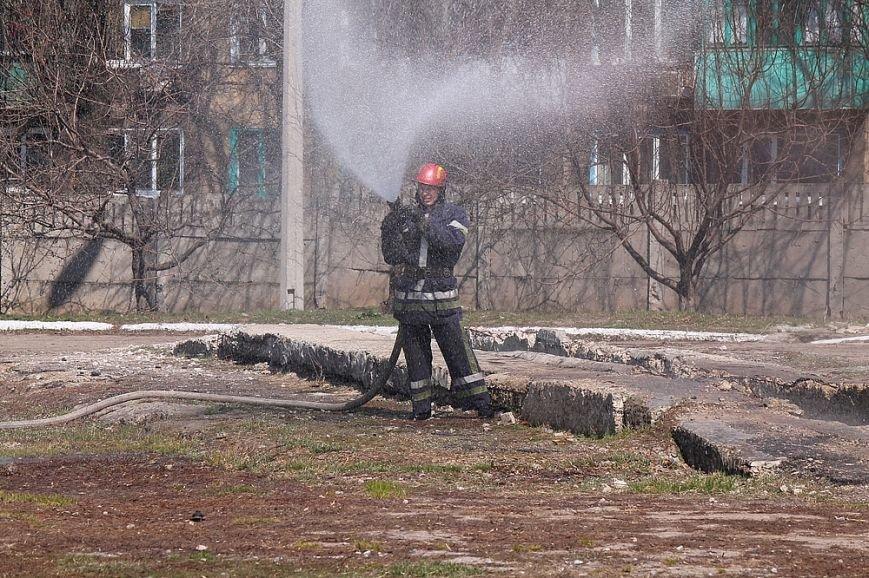 Мирноград: школьники провели один день как настоящие спасатели, фото-3