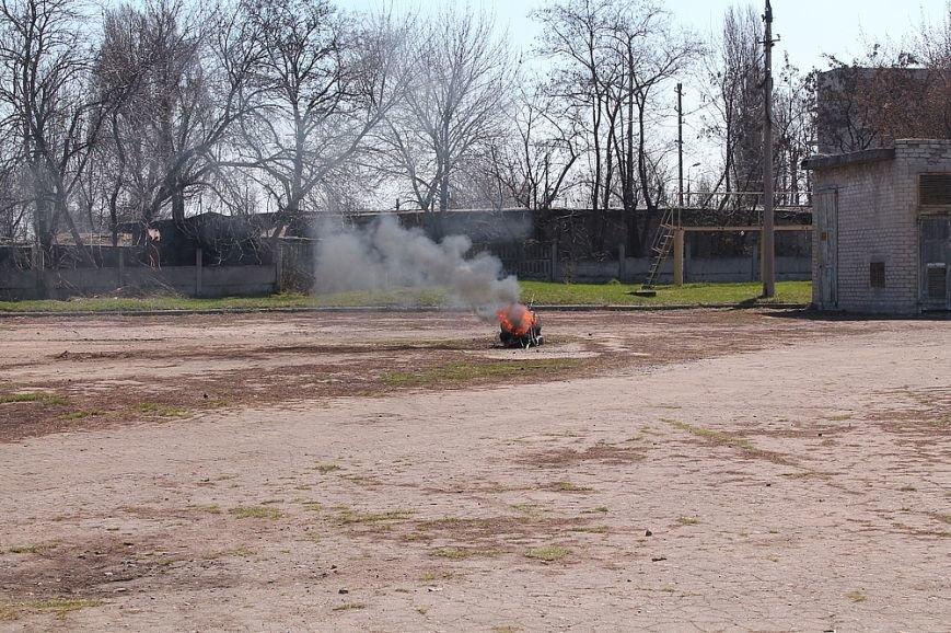 Мирноград: школьники провели один день как настоящие спасатели, фото-1
