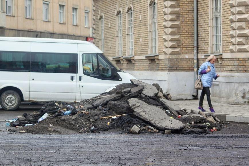 Як виглядає капремонт вулиці Підгірної за 3,5 мільйони гривень: фоторепортаж, фото-20