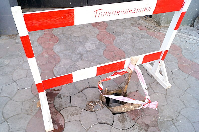 Провал на центральной улице Одессы увеличился (ФОТО), фото-3