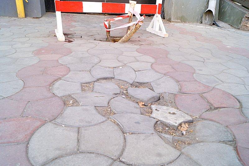 Провал на центральной улице Одессы увеличился (ФОТО), фото-4