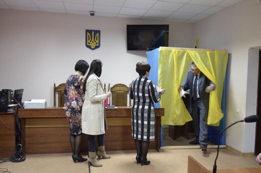 У Кам'янці переобирали голову та заступника міськрайонного суду, фото-1