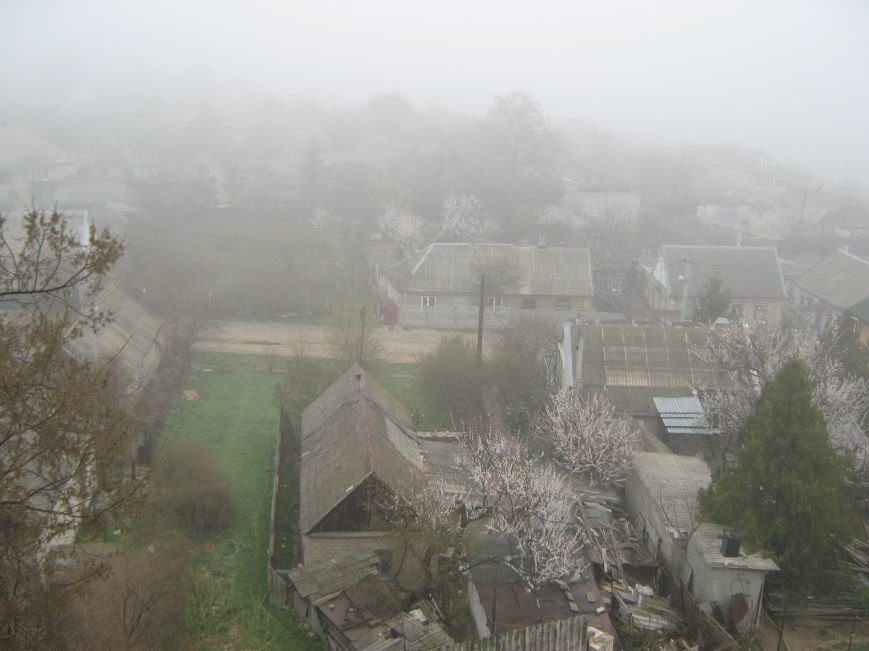 Город накрыло туманом, фото-1