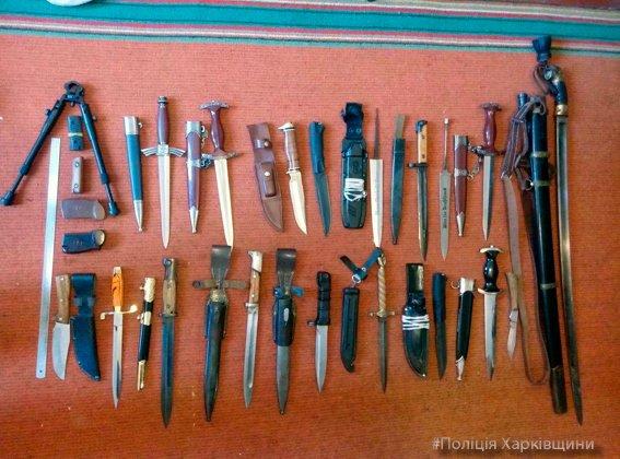 В доме у харьковчанина нашли арсенал оружия  и взрывчатки (ФОТО), фото-2
