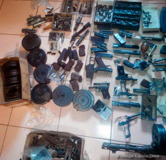 В доме у харьковчанина нашли арсенал оружия  и взрывчатки (ФОТО), фото-3