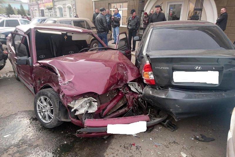 Маленькие дети пострадали в ДТП под Белгородом, фото-2