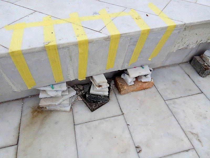 В Аркадии к новому сезону приматывают скотчем отваливающуюся плитку (ФОТОФАКТ), фото-9