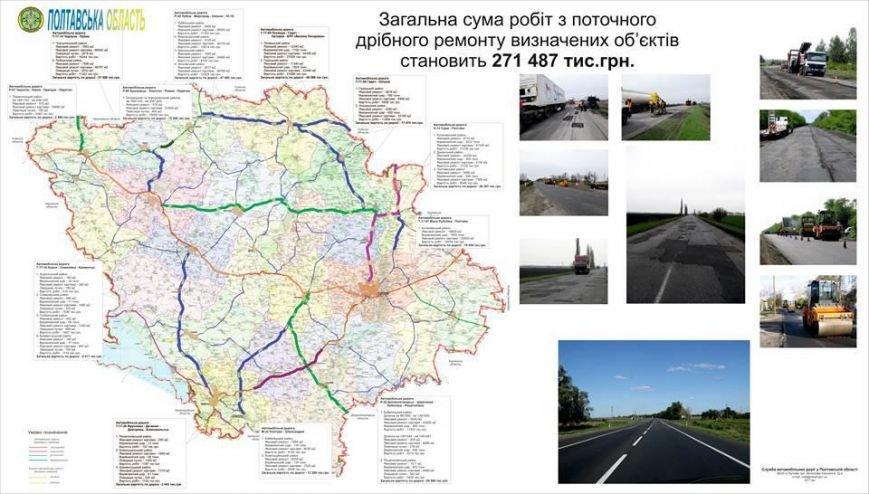 На Полтавщине прекратили делать ямочный ремонт дорог, фото-1