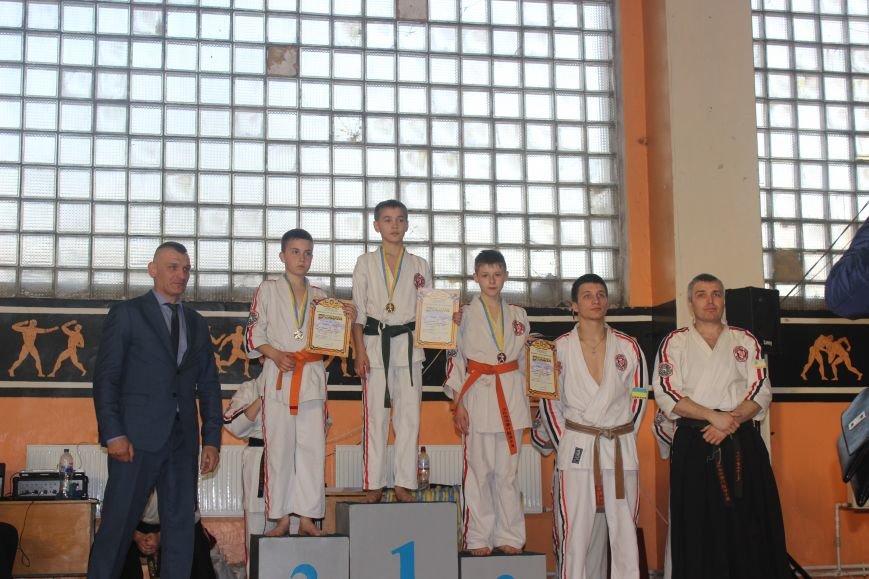 Спортсмены Покровска и Мирнограда успешно выступили на Чемпионате по Косики каратэ в Лисичанске, фото-2