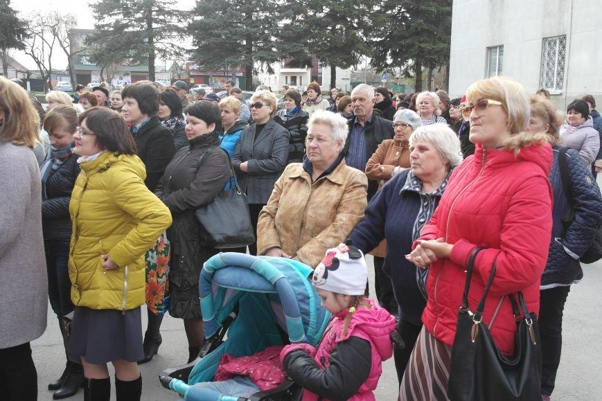 """""""Требушкин - мэр от Бога"""": под таким лозунгом прошел митинг в Покровске, фото-25"""