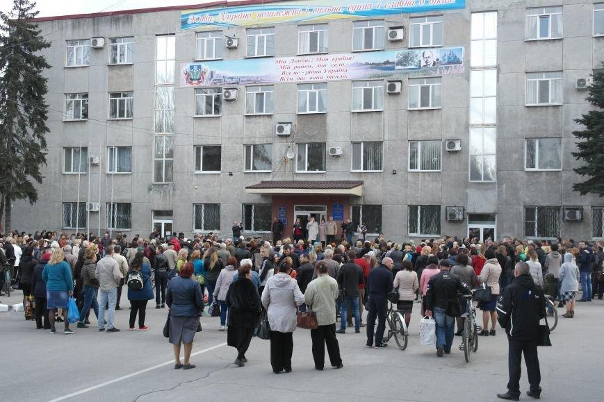 """""""Требушкин - мэр от Бога"""": под таким лозунгом прошел митинг в Покровске, фото-2"""