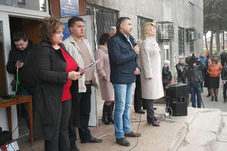 """""""Требушкин - мэр от Бога"""": под таким лозунгом прошел митинг в Покровске, фото-21"""